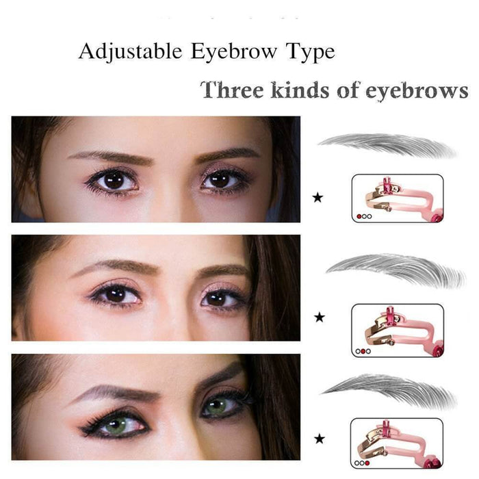 Women Eyebrow Stencils Adjustable Easy & Instant Brow Shaping