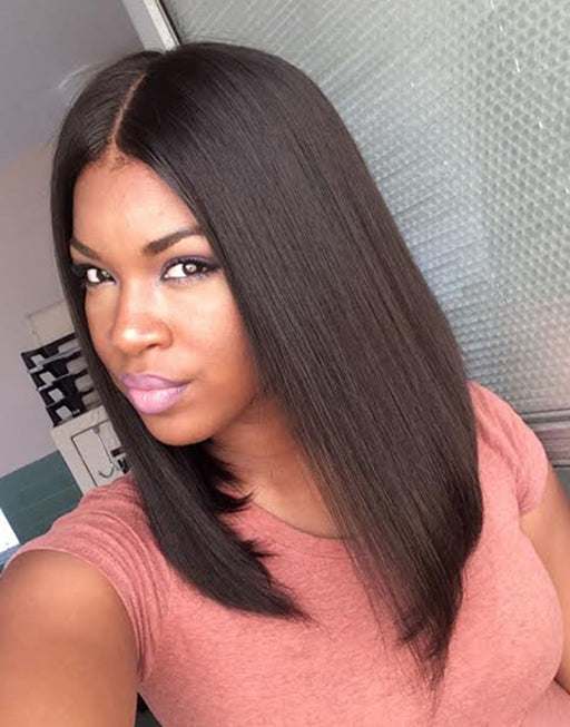 Luna Wig S07 Lovely Bob Straight Shoulder Length for Black Women