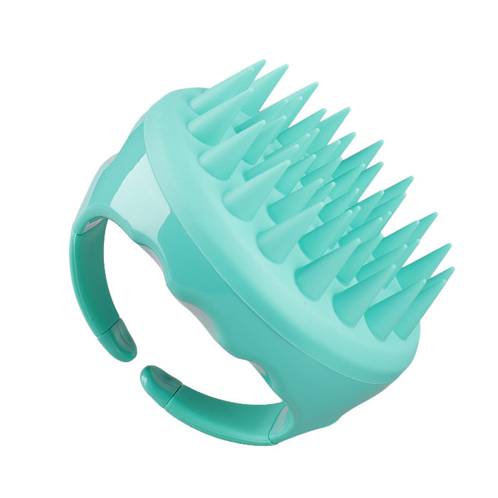 Soft Silicone Hair Scalp Massager Shampoo Brush