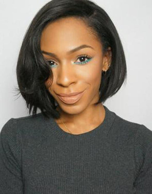 Luna Lace Front Wig S25 Short Bob Straight for Women