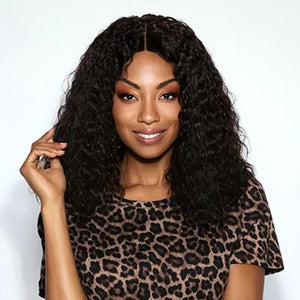 Luna 042 Women Gorgeous Afro Curly Layered Wig Middle Length