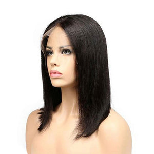 Luna 112 African American Shoulder Length Smooth Straight Bob Wig