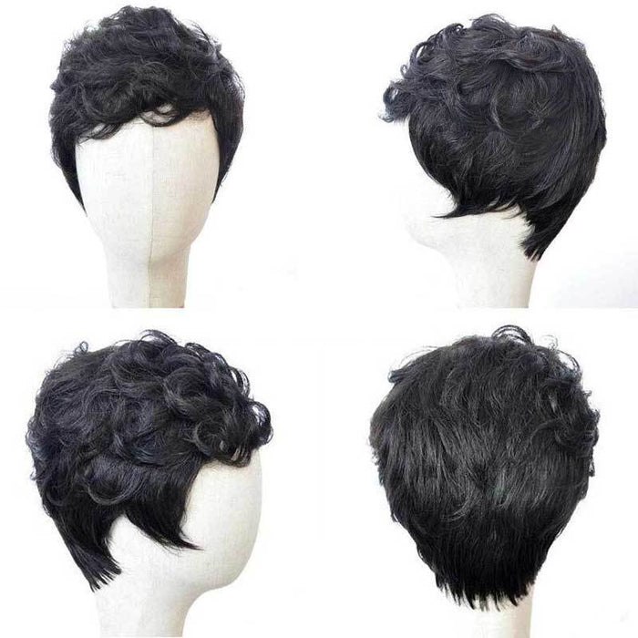 Luna Wig C24 Women Sassy Short Soft Curly for African American