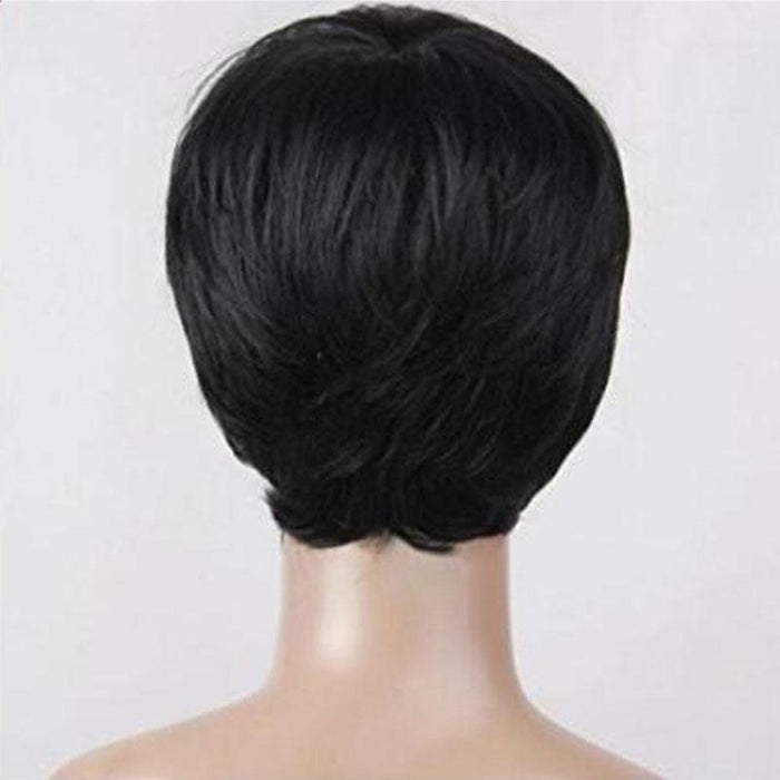 Luna 102 Pixie Layered Short Straight Hair Wig for Black Women