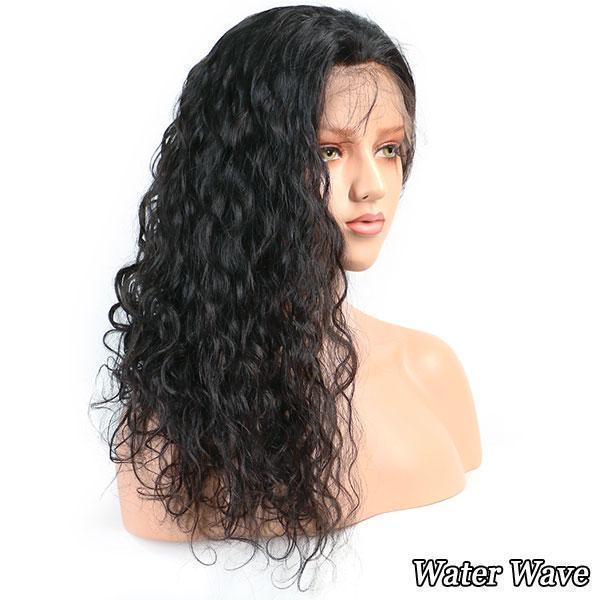Luna N27 Natural Long Kinky Lace Front Hair Wig for Women