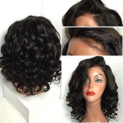 Luna N26 Middle Length Loose Curly Wig without Bangs