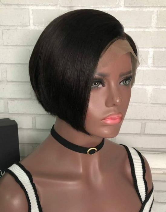 Luna Lace Front Wig S30 Short Straight Chin Length for Women
