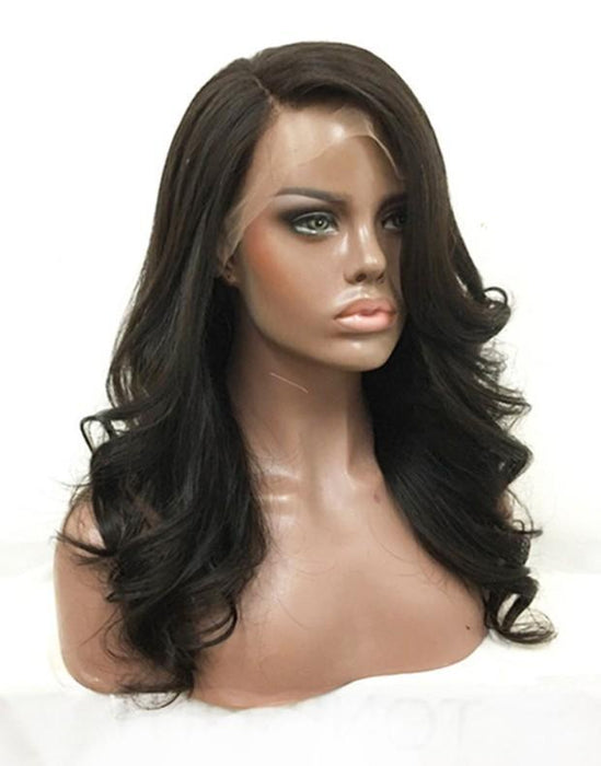 Luna S40 Lace Front Layered Long Curly Wig for Black Women