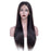Luna S51 Lace Front Extra Long Straight Wig for Black Women
