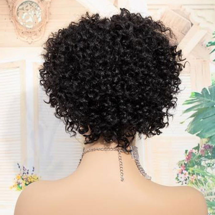 Luna Wig C38 Sensationnel Curly Bob Chin Length Wig for Black Women