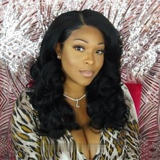 Luna A60 Affordable Middle Length Synthetic Curly Hair Wig