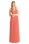 Two Birds Classic Gown - Coral