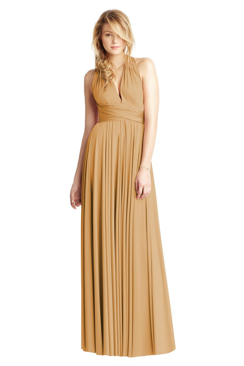 Two Birds Classic Gown - Gold