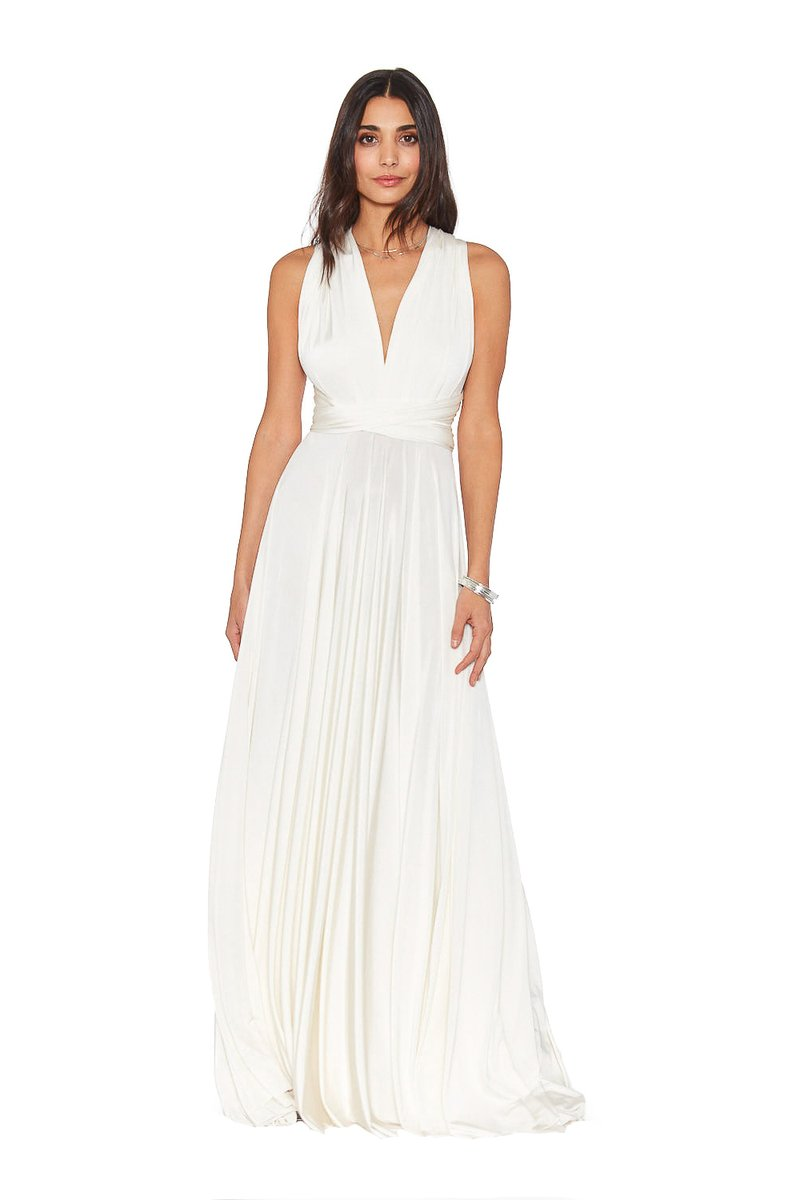 Two Birds Classic Gown - Ivory