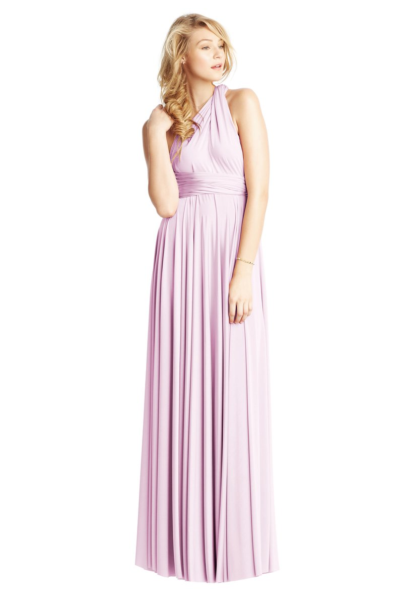 Two Birds Classic Gown - Lilac