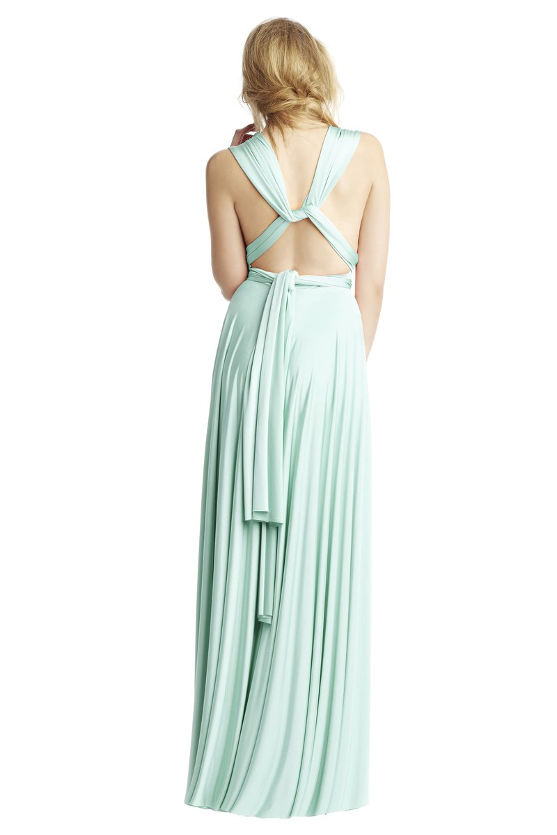 Two Birds Classic Gown - Mint