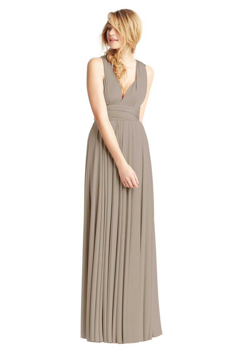 Two Birds Classic Gown - Putty