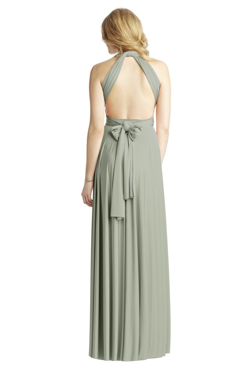 Two Birds Classic Gown - Sage