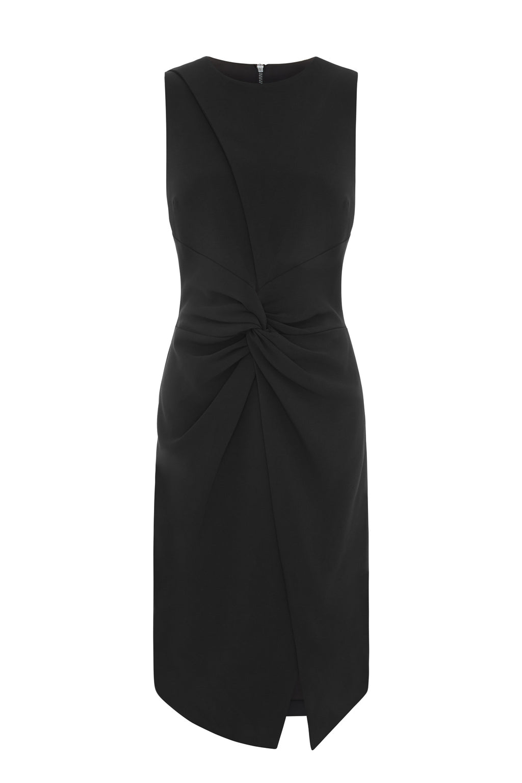 Outline Peroma Black Midi Dress