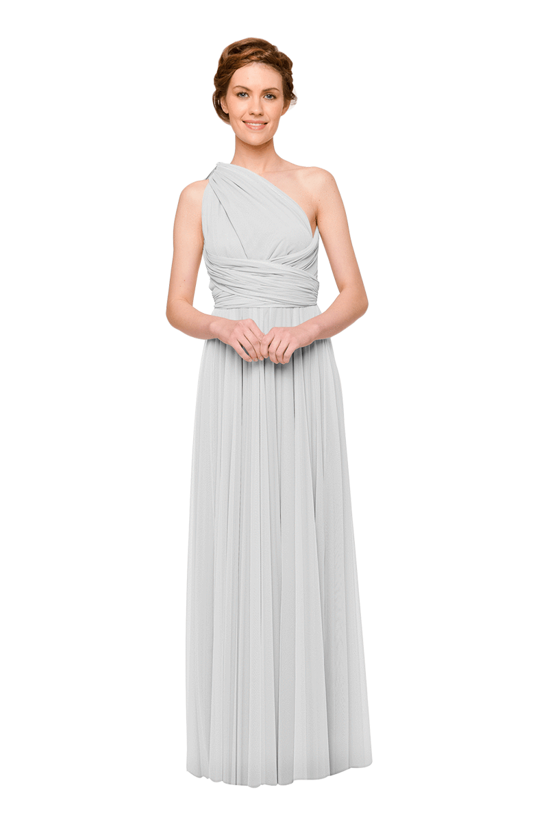 Two Birds Tulle Gown - Cloud
