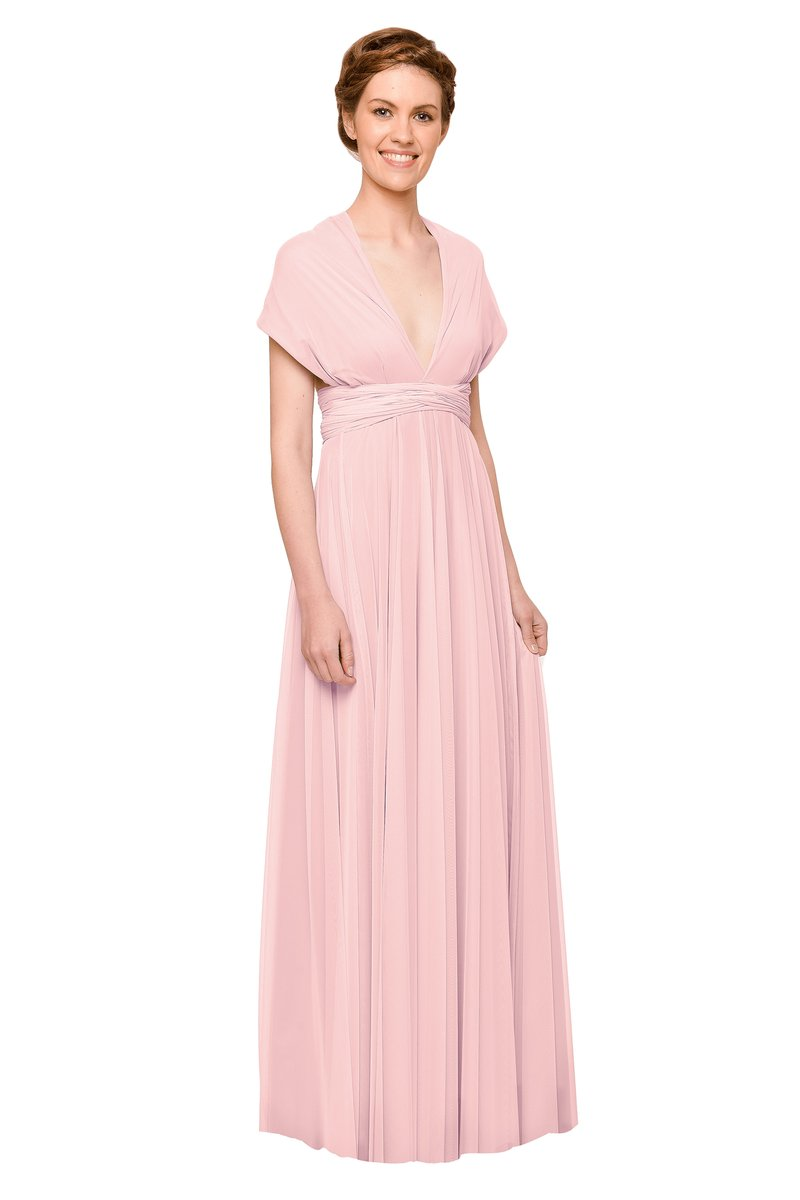 Two Birds Tulle Gown - Petal