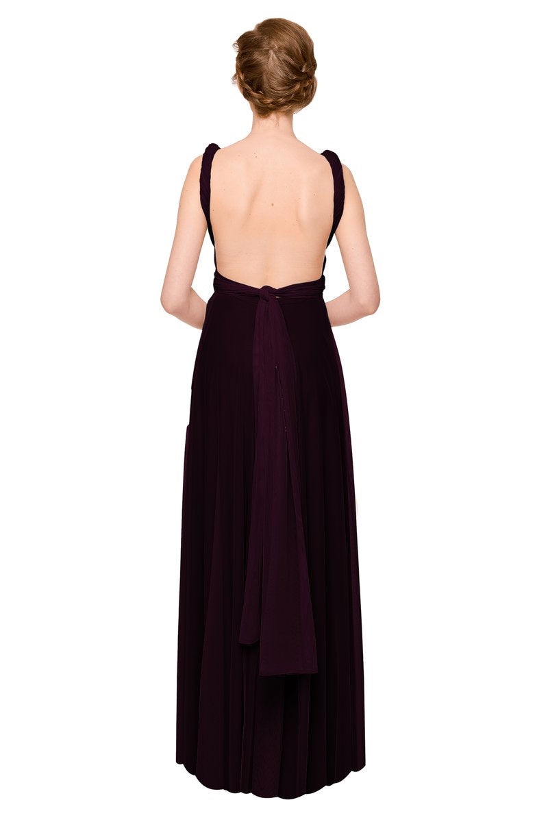 Two Birds Tulle Gown - Plum