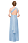 Two Birds Tulle Gown - Powder Blue