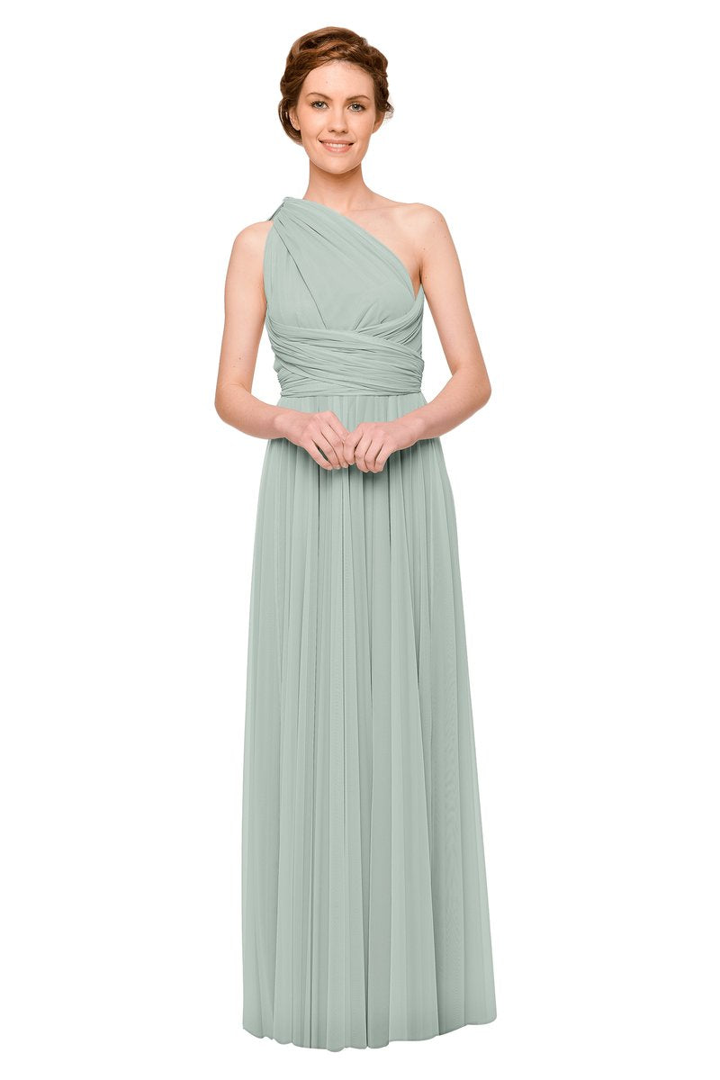 Two Birds Tulle Gown - Sage
