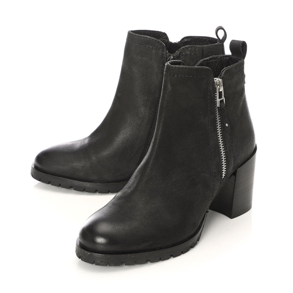 Moda in Pelle Breeti Black Heel Boots