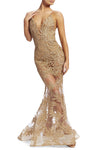 Nadine Merabi Stella Gold Dress
