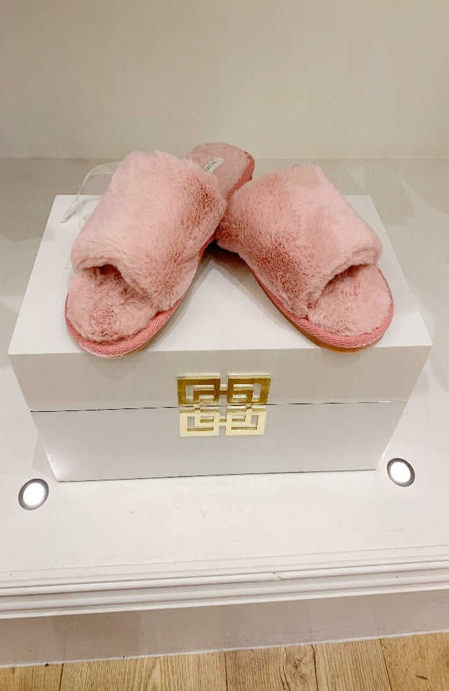 Super Soft Pink Slippers