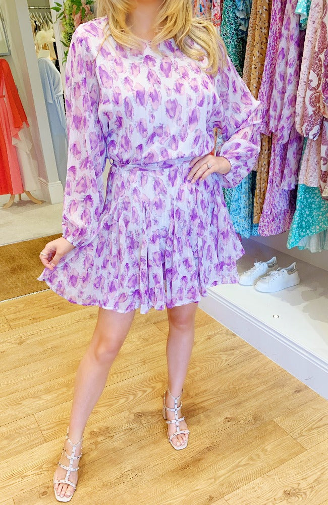 Sorrento Swing Dress in Lilac