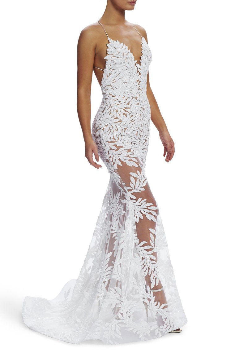 Nadine Merabi Stella Dress - White