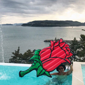 Inflatable Red Rose