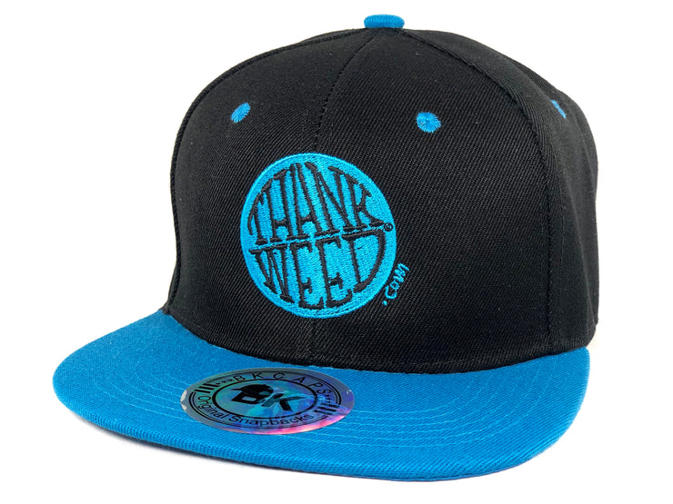 Two-Tone Thankweed Logo Snap Back Flat
