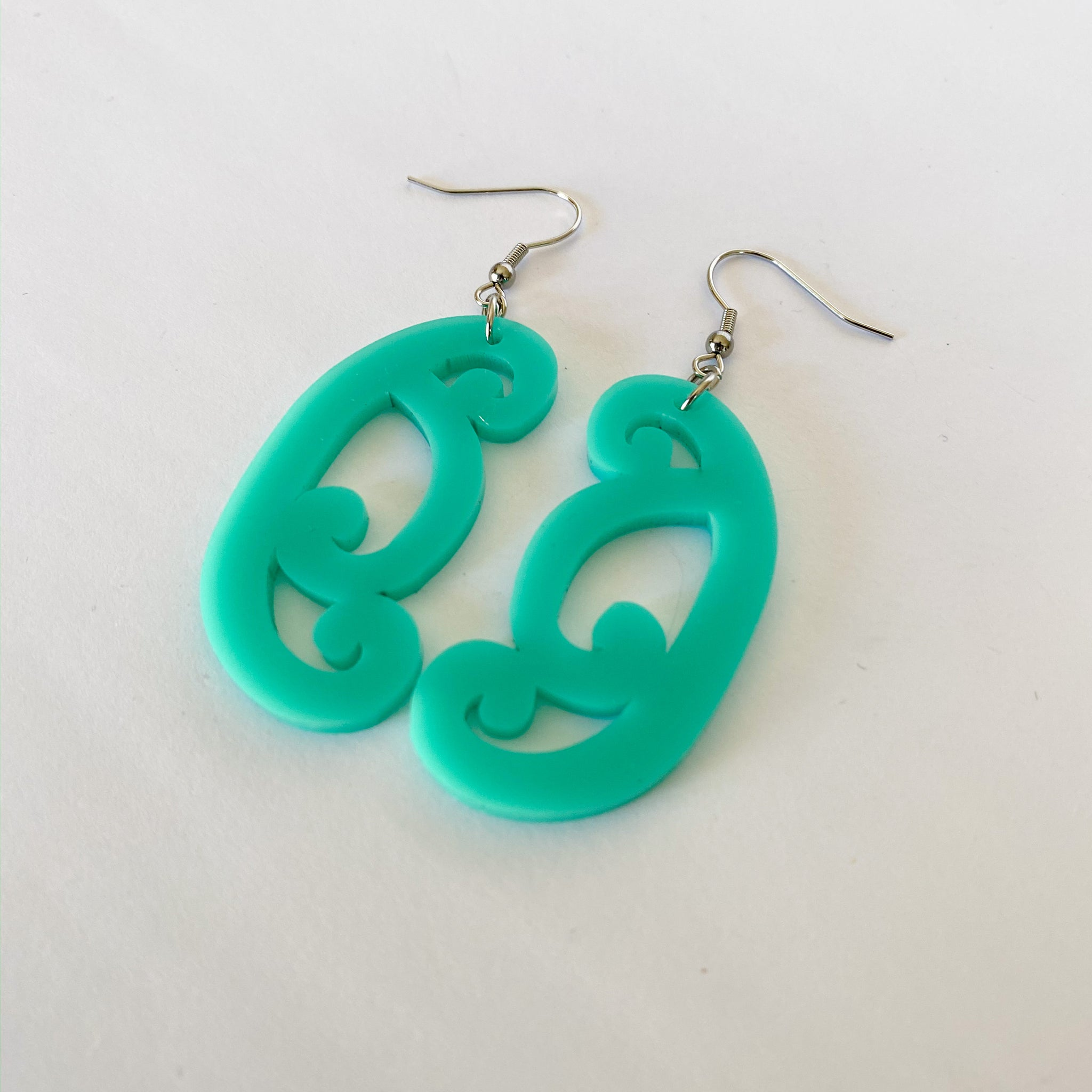Earrings Teal, Koiri