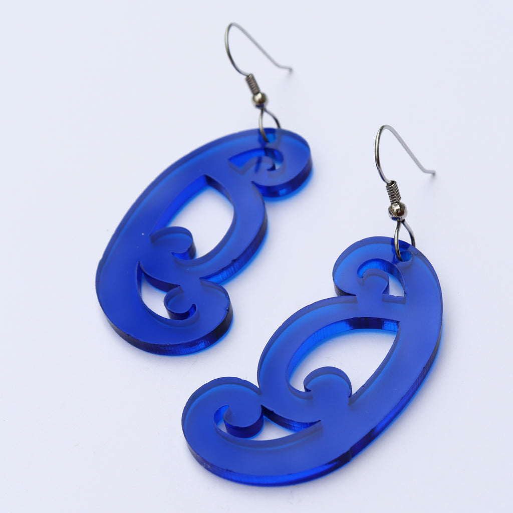 Earrings Blue, Koiri