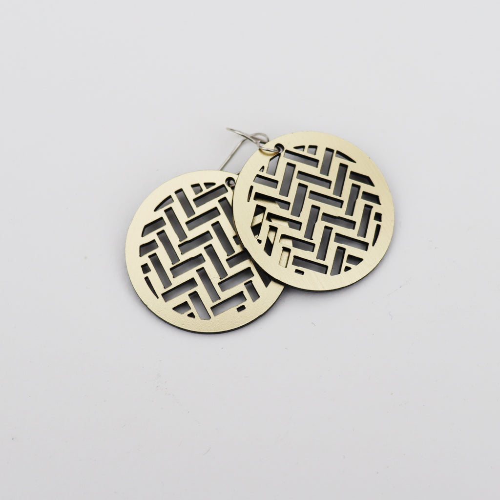 Earrings Taki Rua Circle Gold