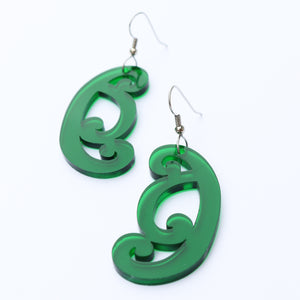 Earrings Koiri Green