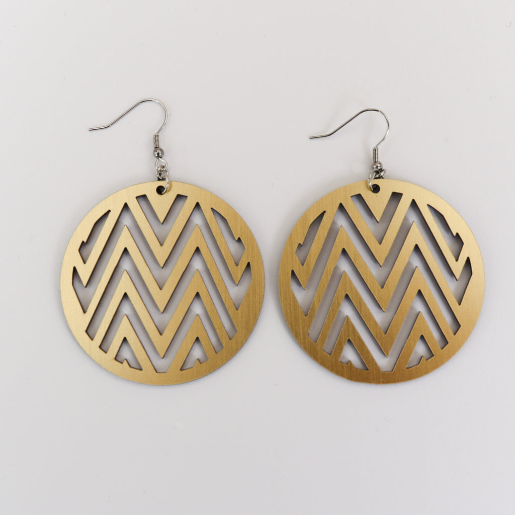 Earrings Gold, Mana