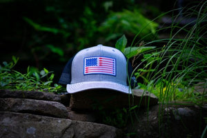 Arrow Flag Patch Trucker Hat (multiple colors available)
