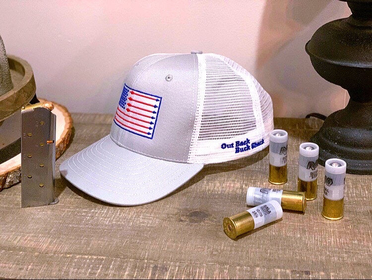 Made in the USA Arrow Flag Trucker