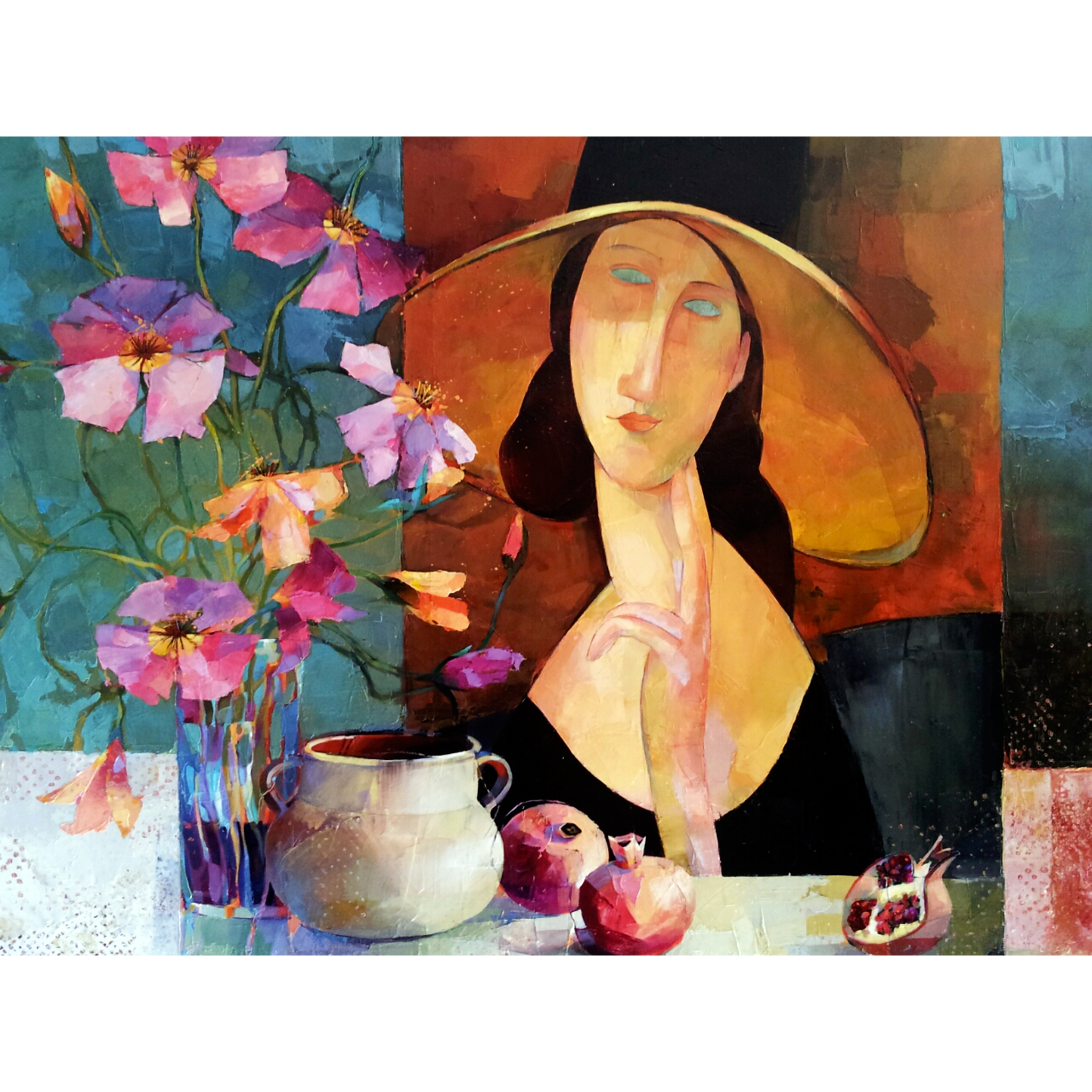 Flowers for Modigliani