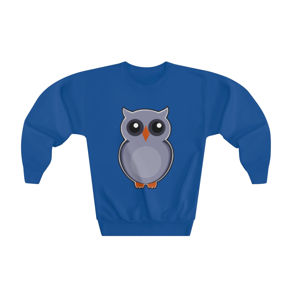 GREY OWL- Youth Crew neck Sweatshirt