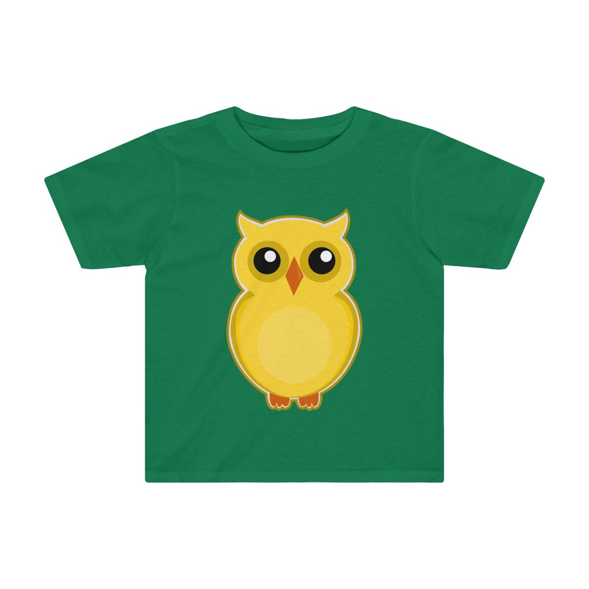 Yellow Owl- Kids Tee
