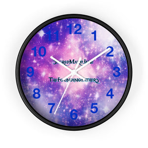 SMJ INFINITE GALAXIES- Wall clock