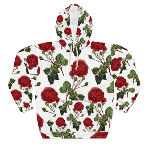 NEW! ROSES- Unisex Pullover Hoodie