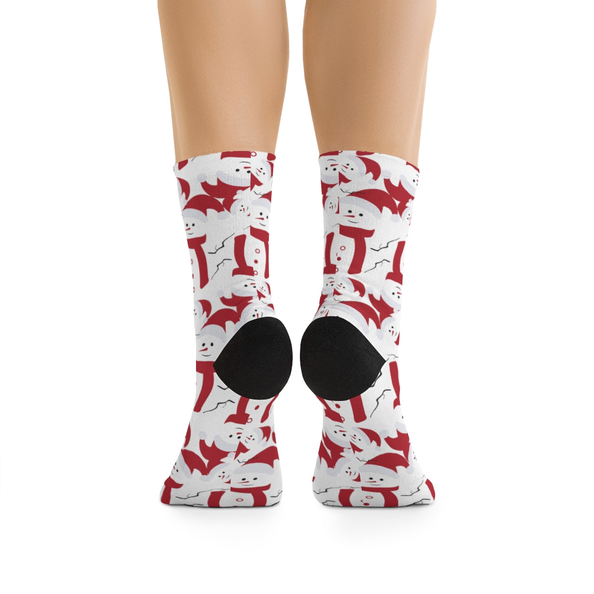 Jolly Snowmen Christmas Socks