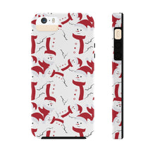 Load image into Gallery viewer, Jolly Snowmen! Cell Phone Cases