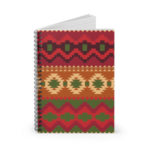 Southwest Navajo Pattern-Spiral Notebook - Ruled Line